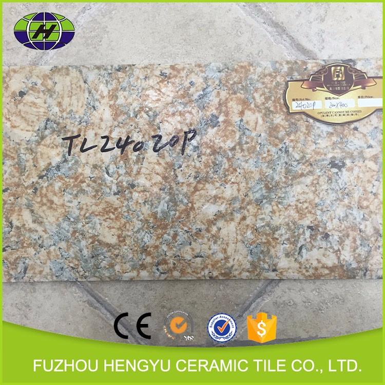 Popular Widely Use High Quality Glazed Rustic Wood Look Ceramic Tiles