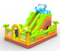 Factory selling high quality giant inflatable water slide for sale