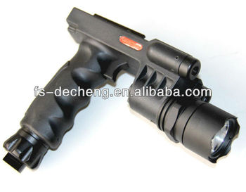 3 in 1 Tacticalled flashlight and laser combo red or green
