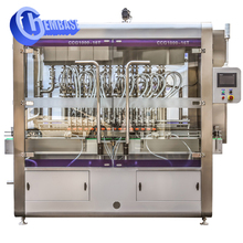 High Efficiency Safe automatic liquid filling sealing machine