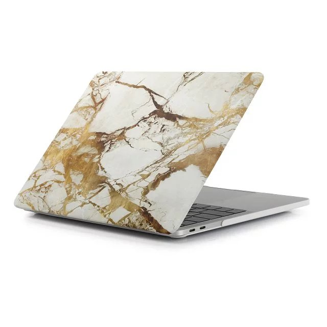 wholesale factory price gold marble for mac pro laptop case cover new pro 13 multi-Touch Bar A1706 A1708