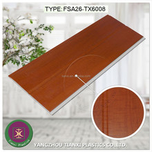 laminated wooden design plastic wall panel,good architectural ornament