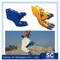 Excavator Hydraulic Concrete Pulverizer Crusher/Cutter low price