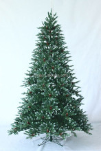 Factory directly sale outdoor metal Christmas tree with led lights