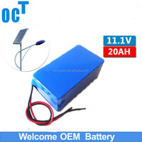 OEM super portable rechargeable 12v dc 18650 battery pack with 12V AC li ion battery for Solar Power System/LED Panel Light