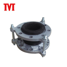 double sphere rubber expansion joint bellows with flange