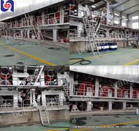 1092mm double-dryer can and double-cylinder copy paper/ culture paper/ printing paper making machine