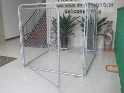 High Quality Power Coated Outdoor Dog Pens/ Backyard Dog Kennel