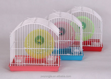 2017 Hot New Accessories For Animals China Pet Supplies Chain Link Hamster Cage With Feeder