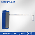 1M~6m Quality Steel Electronic /Intelligent Boom Barrier Gate With LED Display
