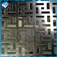Alibaba manufacture decorative outdoor perforated corrugated metall wall cladding panels