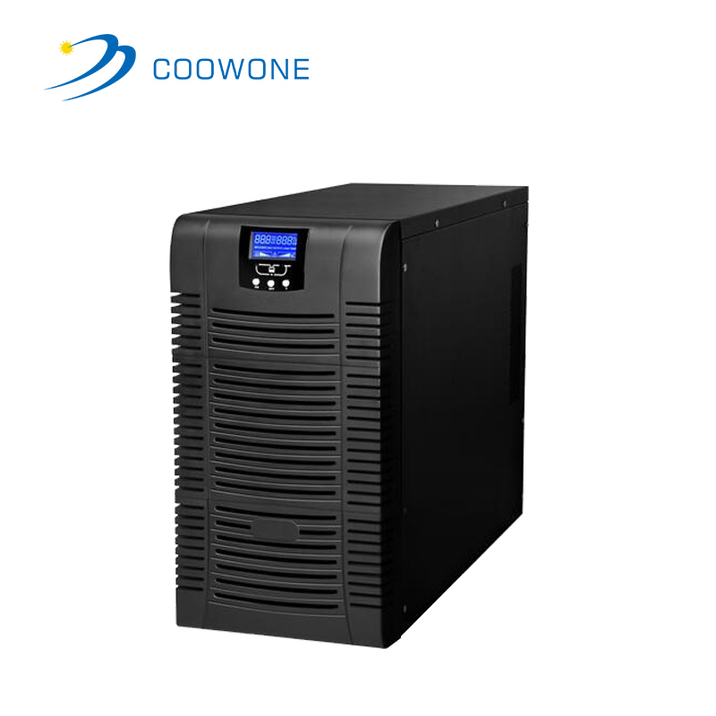 Rackmount/tower uninterruptable power supply 1KVA 2KVA 3KVA high frequency online UPS with UPS battery for office or bank