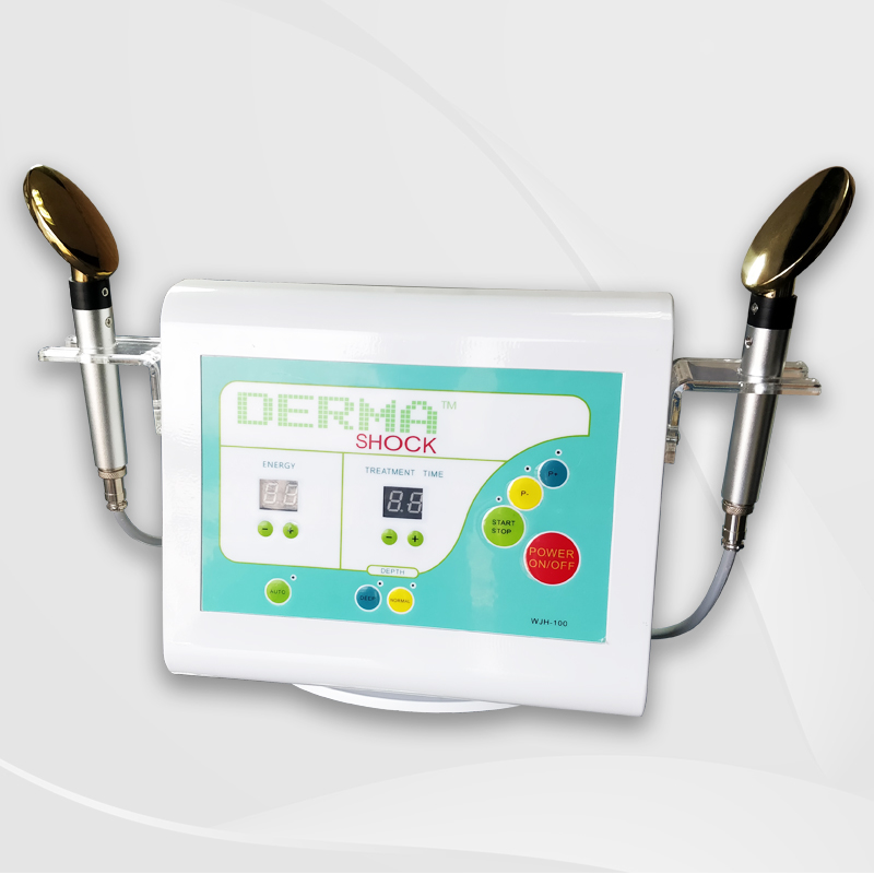 Best rf face lifting Golden spoon derma <strong>shock</strong> machine