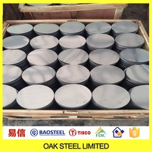 cold rolled stainless steel circle for kitchenware 201 304 410 430