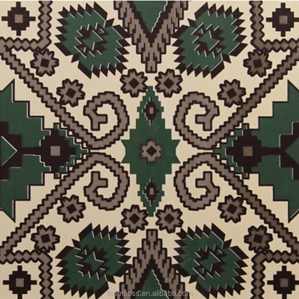 200*200mm green color moroccan decorative wall tile non-slip kitchen floor tile