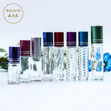 wholesale 3ml 5ml 6ml 8ml 10ml 15ml 20ml glass perfume roll on bottle