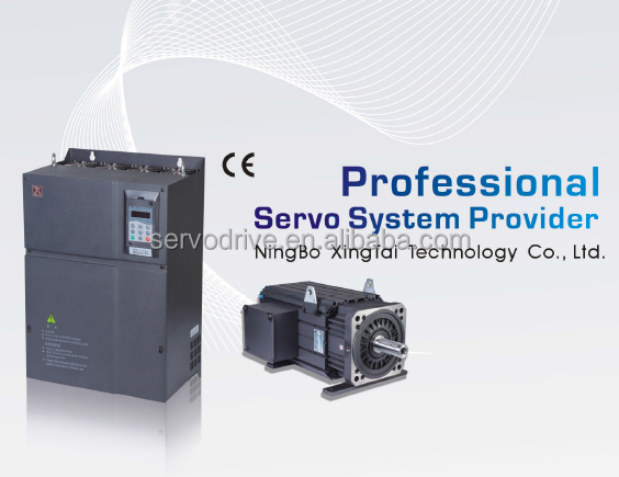 380V AC servo motor and drive combo for Injection machine
