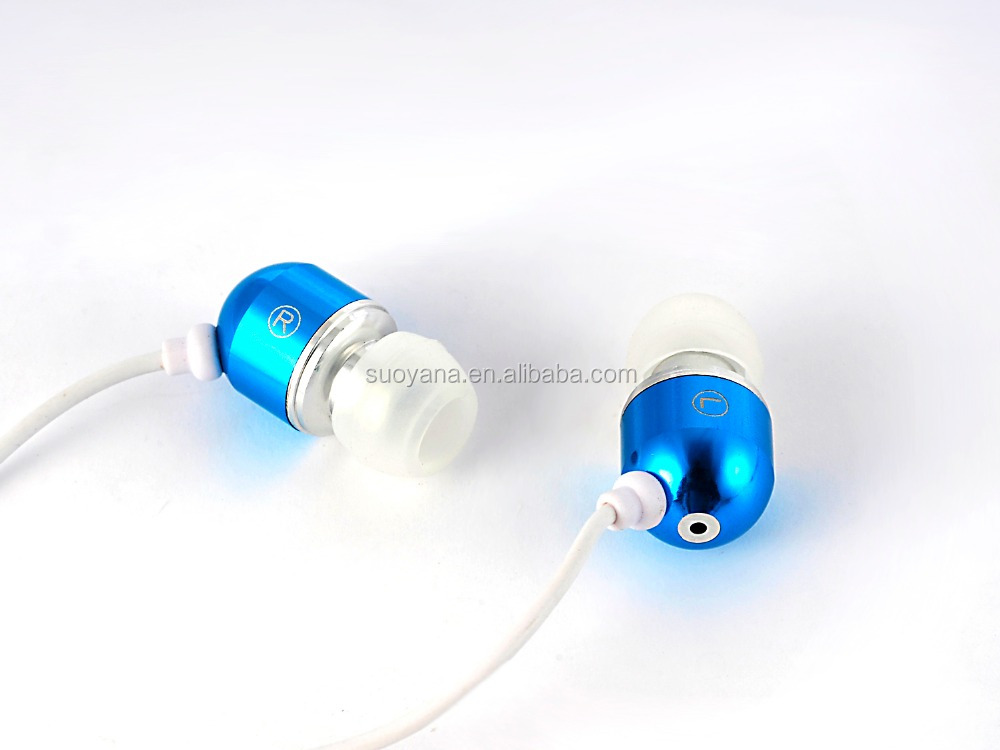 Earbud Earphone for Mobile phone 3.5mm Clear Acoustic Air Tube Earpiece