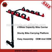 60Kg Loading Capacity Luxury Professional Car Cycle Bike Racks Carrier For Sale