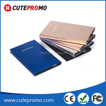 2016 Ultra thin cell phone credit card sized power bank for Promotion gift full capacity