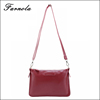 2017 Promotional wholesale custom ladies messenger pu leather bag mini cross body bags with factory price