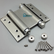 Double Action Spring Swing Swinging Door Gate Saloon Hinge
