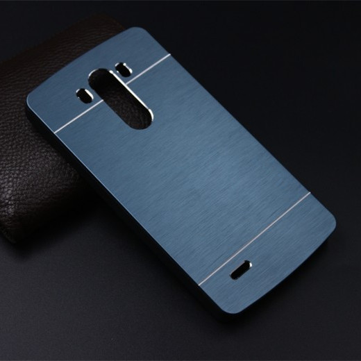 Hot Sale MOTOMO 8 Colors Fitted Case Metal Back cover For LG G4 Hard PC Case