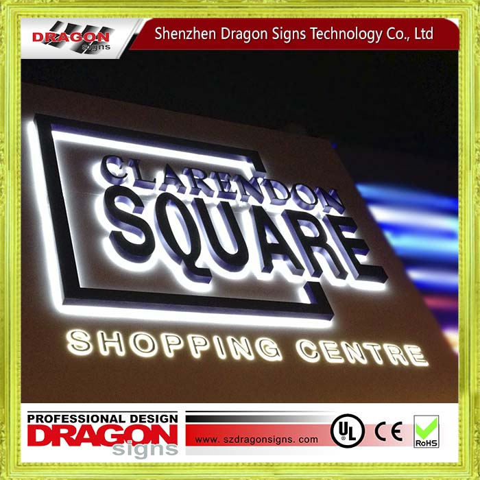 Custom outdoor any font light signage , led lighted sign