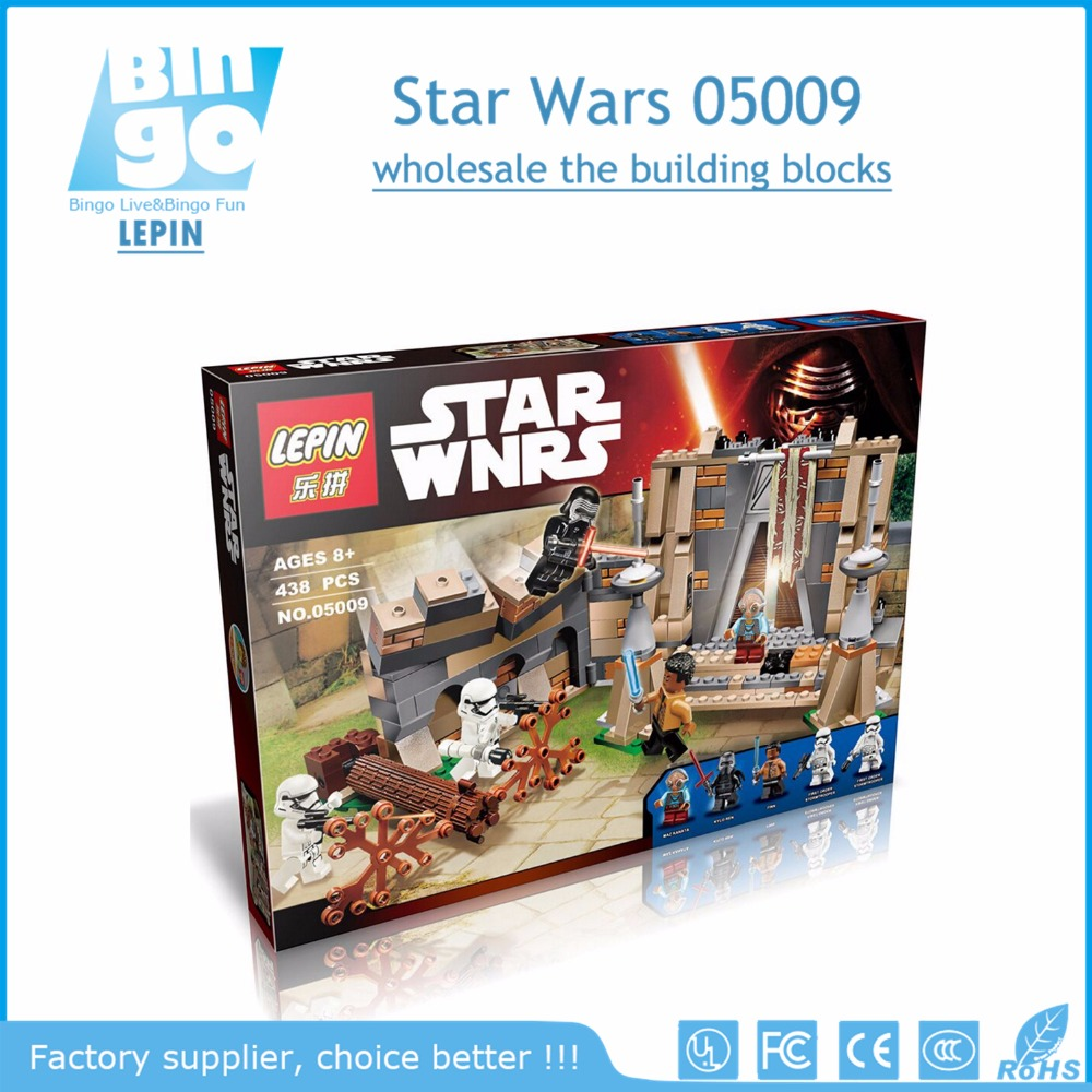 Bingo best wholesale 438pcs LEPIN star wnrs 05009 building block toys for children