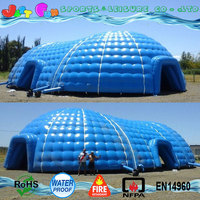 commercial grade PVC giant inflatable dome tent yurt for sale