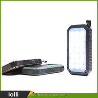 Innovative products 4000mAh 10000mAh solar charger power bank