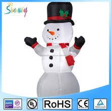 SUNWAY Inflatable Christmas Snowman Popular Inflatable Balloon Snowman for Christmas