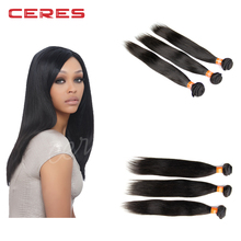 Xuchang Ceres hair ornaments company 12 14 16 18 virgin indian hair in stock