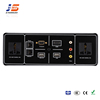 JS-T101+ Exquisite Appearance Tabletop Flush Mount Cable Socket Box