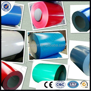 Color coated aluminium coil and sheet