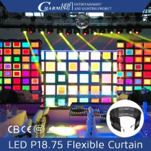 DMX stage backdrops rgb led curtain curtain backdrops for theater decoration