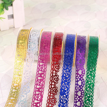 CAG888 Colorful Adhesive Glitter Tape