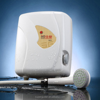Plastic tank instant electric water heater for bath shower price
