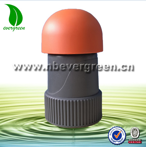 Agriculture irrigation system plastic automatic one way air valve
