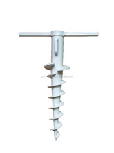 sun garden patio parasol umbrella screw anchor base parts