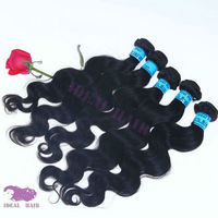 expression brazilian 100% virgin hair extension weaves hair free sample