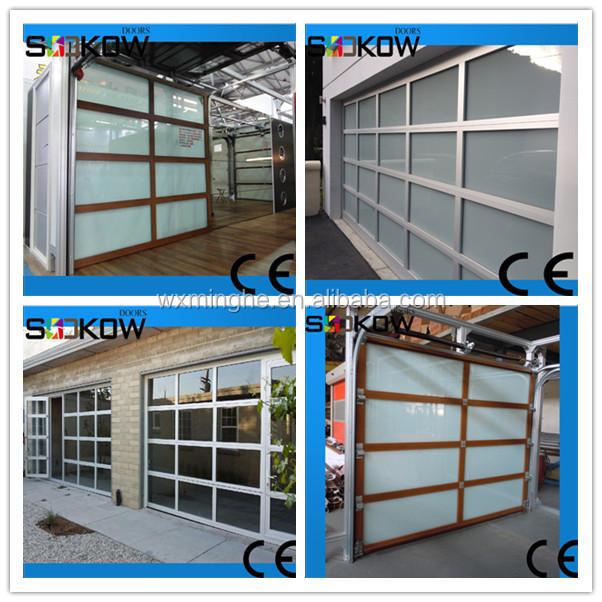 Insualted vetro sezionale porta del garage-Porta-Id prodotto:268126534-italian.alibaba.com