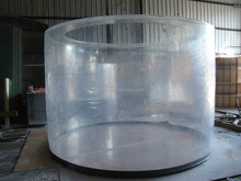 1000mm big hard acrylic tube/ large diameter acrylic tube/large diameter plastic pipe