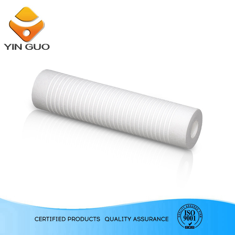construction machine auto industry use pp melt blown filter cartridge making equipment with alkaline water bag