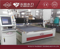 YCWJ CE cerficated automatic used stone waterjet marble cutting machine