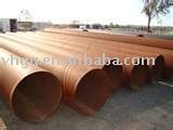 hot dipped galvanized black pipes