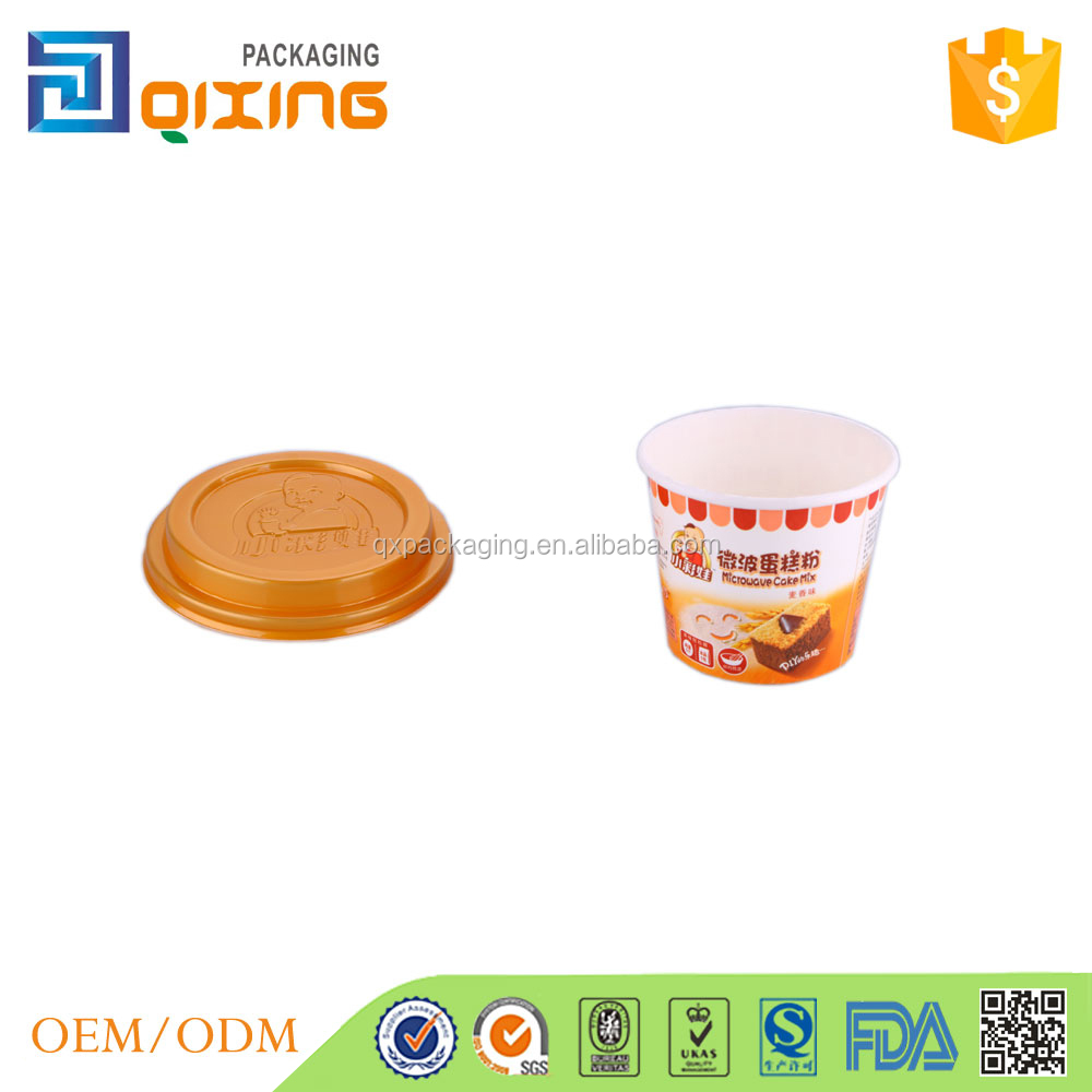 Custom design baking paper cup for cake mix