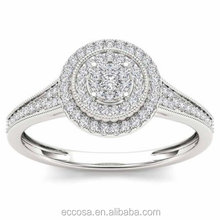 Newest wholesale solid pure 925 sterling silver saudi arabia gold wedding ring wholesale silver ring