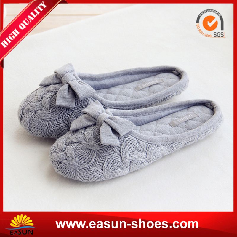 Free sample promotional high top shoes women slipper canvas ballet style slippers