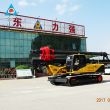 drilling 60m foundation mini hydraulic piling rig